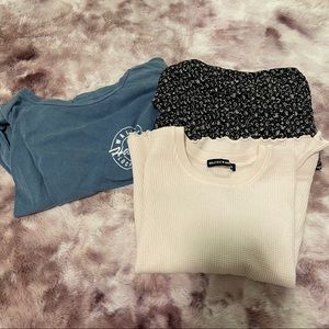 brandy melville bundle of tops